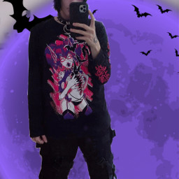 cazfhey bat batboy techwear fashion streetfashion streetwear streetstyle streetgoth goth gothboy gothfashion anime animeboy spooky creepycute vampire demon ghoul deadboy emo eboy ootd yamikawaii gurokawa freetoedit