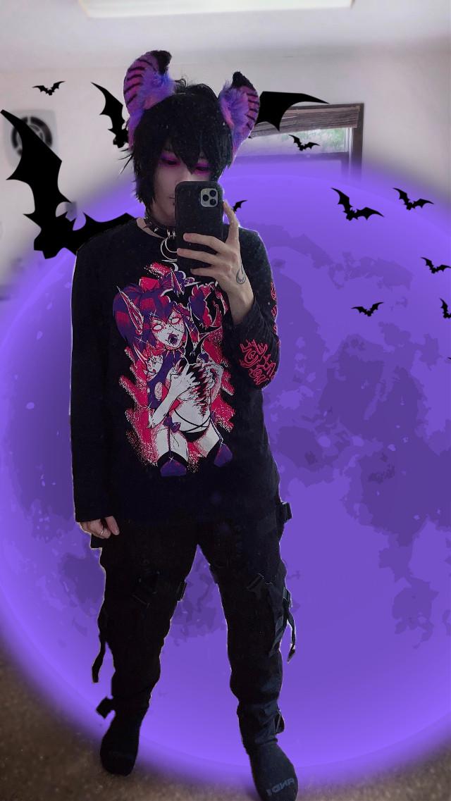 🔮🦇 Tech Wear Bat Boy 🦇🔮 - This edit is a but extra, buuut it's either that or looking at the trash all over the floor cause I live like a goblin, lmao. (Even tho i already posted it on my ig) 🦇💧 - Instagram: cazfhey - #cazfhey #bat #batboy #techwear #fashion #streetfashion #streetwear #streetstyle #streetgoth #goth #gothboy #gothfashion #anime #animeboy #spooky #creepycute #vampire #demon #ghoul #deadboy #emo #eboy #ootd #yamikawaii #gurokawa