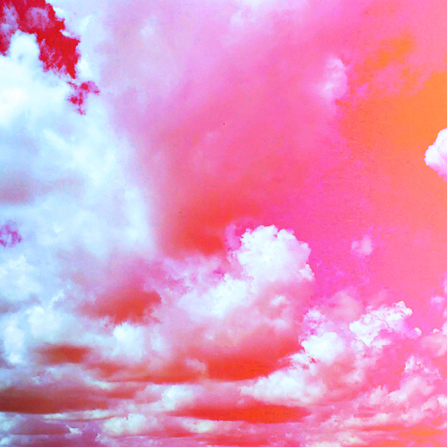 #clouds #mypic #edited #pink
