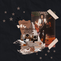 brianmay brian queenband queen vintage edit aesthetic freetoedit