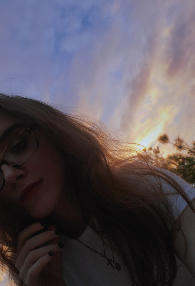 infinitesimal being • • • • #picsart #girl #aesthetic #photography #sunset #sky #skyphotography #selfie #vynl #sunsetphotography #aestheticphotography #lifestyle