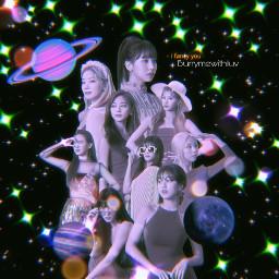 twice fancy kpop twiceedit kpopedits space sparkles prequel twicemomo twicenayeon twicesana twicemina twicedahyun twicetzuyu twicejihyo twicechaeyoung twicejeonyeon bokeh