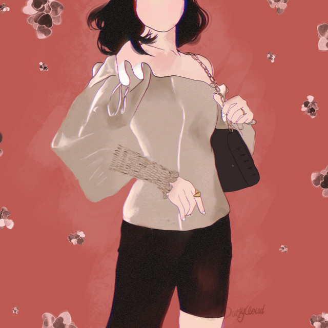 #art #graphicart #digitalart #dress #woman #girl #myart #drawing