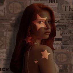 picsart aesthetic stars newspaper newspaperbackground