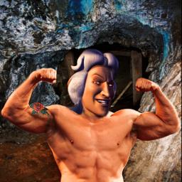 barbie hot strongman strong tattoo hotmen freetoedit