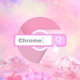chrome googlechrome app ios14 iosupdate apple update pink pinkaesthetic freetoedit