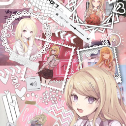 danganronpa danganronpav3 danganronpakillingharmony kaedeakamatsu kaede akamatsu pink yellow asthetic astheticallypleasing astheticedit danganronpaedit wallpaper ultimatepianist killingharmony mom wifu wifumom animewifu animemom freetoedit