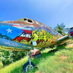 freetoedit myphoto airplane art graffiti puertorico interesting nature sky photography photographer photographylovers beautiful lovepics picsartshoutout