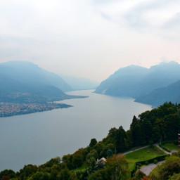lake mountain nature landscape freetoedit