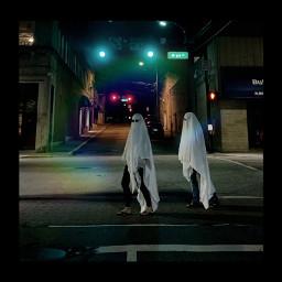 ghosts havingfun bestfriends happy heypicsart