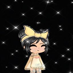 gachalife clothes hair headband cutie freetoedit