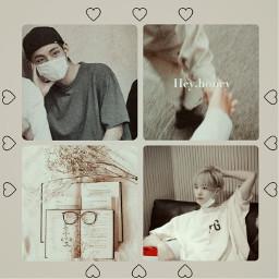 taegi taehyung yoongi suga v moodboard heart bts seokjin namjoon jimin jhope jungkook army