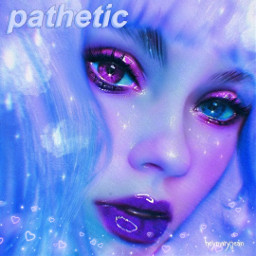 freetoedit remixit plzfollow freepfp aesthetic pathetic blurred purple bangs hearts sparkle digitalart prettygirl teen glossy lips darling cute vsco girlart