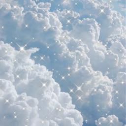 clouds sparkles glitter