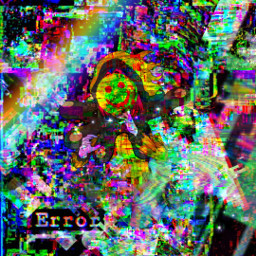 anzukinashi yttd yourturntodie yttdanzu anzuyttd glitch rainbow glich glitchcore glichcore glicthcore freetoedit