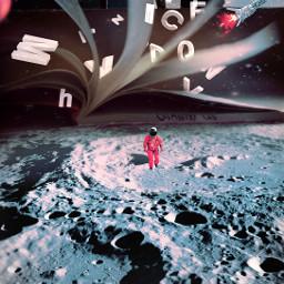 space surrealart surrealism picsart planet booklover book fantasy freetoedit unsplash