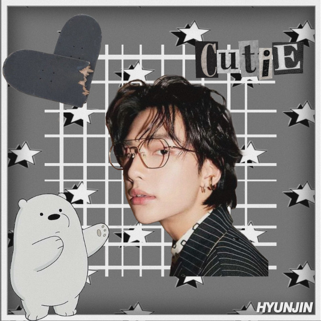 @k-pop_05 @nctinthehouse_05 @iwantramyeon  Im still working on this type of edit so yeah i hope you like it and stay heallltthhyyy🖤🤍✨ #straykids #hyunjin #stay