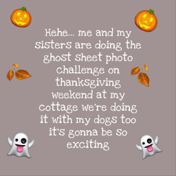 fall halloween ghost photochallenge fog dog ghostchallenge excited