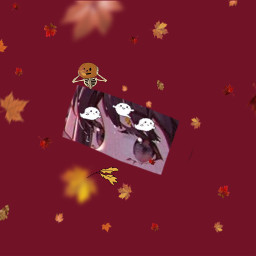 fall spookseason pumpkins anime freetoedit