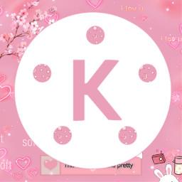 kinemaster kinemasterlogo logo icon kinemasterpink pink pinkaesthetic pinksticker pinkbackground pinkpink anime art k pinkk letter kpop bunny cuteaesthetic cuteicon cute cutebaby pinkbunny freetoedit