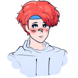 roy art artist drawing sketch anime boy weeb weeaboo fe feh fireemblem game nintendo boys yaoi speedpaint aesthetic ssbu supersmashbros