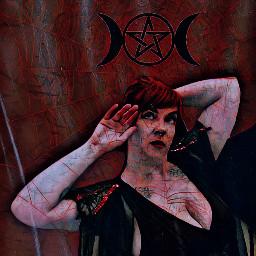 halloween queenofnight vampire moody spiderweb magic magiceffect freetoedit
