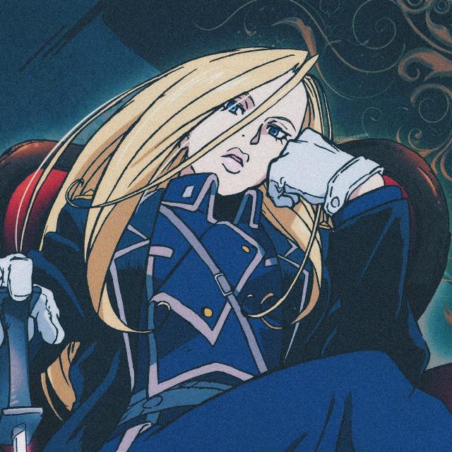 •  •  •  Anime: Fullmetal Alchemist Brotherhood  •  Character: Olivier Mira Armstrong   •  •  •  definitely the best women of fma  #olivierarmstrong #armstrong #fmabrotherhood #fullmetalalchemist #fma #fmab #animegirl #fullmetalalchemistbrotherhood #yellow #blue  #animeaesthetic #yellowaesthetic  #profilepic #profilepicture #anime #animeicon #icon #aesthetic #pfp #freetoedit