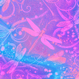 freetoedit glitter sparkle galaxy dragonflies butterflies flowers bugs nature stars glow pastel swirl background overlay
