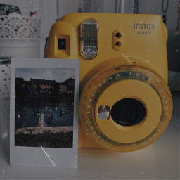 freetoedit polaroid yellow
