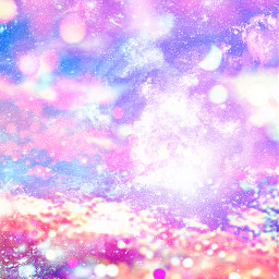 freetoedit glitter sparkle galaxy sky bokeh pastel shimmer lights pink purple stars stardust background overlay