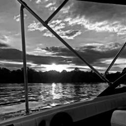 photographer photography blackandwhite sunset lake pcblack&whitenature black&whitenature