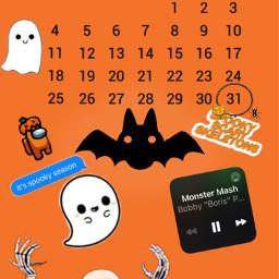 spooky srcoctobercalendar octobercalendar freetoedit