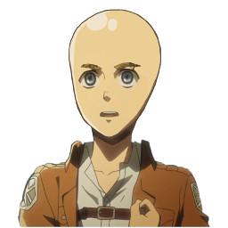 aot attackontitan anime edit animeedit armin arminarlert arminarlertedit bald baldie baddie meme funny levisquad levi snk snkedit shingekinokyojin