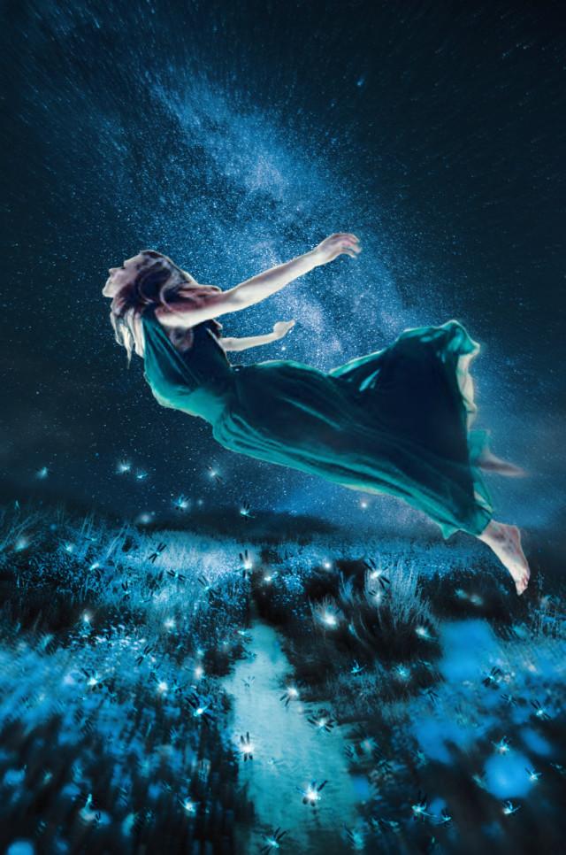 The flight of the Witch. Levitate. 🖤   #halloweenscream #fantasy #surreal #mystical #fantasyart #doubleexposure #fxeffects #madewithpicsart  Inspired by @roxannegraziadei-fatta Episodes from #unsplash #freetoedit