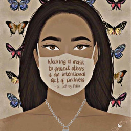 mask wearamask kindness bekind lovely hdreffect remixed locknecklace freetoedit