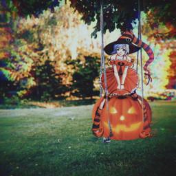 freetoedit halloween remix mrlb2000 pumpkin challenge madewithpicsart ircfunswing funswing