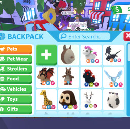 adoptne roblox adopt me dreampet pet dream yes yay uni kangaroo owl frostdragon batdragon