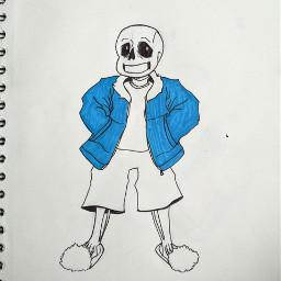 undertale undertalefanart sansundertale sans drawing sketch