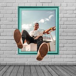 frame boy perspective threedimensional 3d room orient_arts madewithpicsart heypicsart makeawesome picsart freetoedit