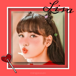 freetoedit lalisa lisa blackpinklisa blackpink fanedit mingausan kpop faneditkpop red