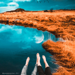 picsart myedit myremix replay picsartreplay water coupleinlove nature fxeffects freetoedit