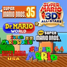 supermariobros35 supermario35 supermario3dallstars drmarioworld newsupermariobros freetoedit