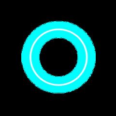 freetoedit neon circle ring glow shinee remixit