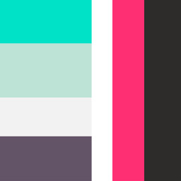 red green black white mintgreen lightgreen color colors pallet pallete palette colorpallet colorpallete colorpalette