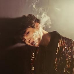 freetoedit yoongi minyoongi smoke cigarette yoongicigar cigar bts suga agustd wings
