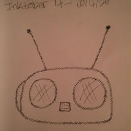 freetoedit stereo beatbox radio inktober inktober2020