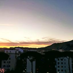myphoyo tramonto mycity napoli italy🇮🇹 italy