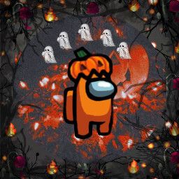 halloween halloween2020 halloweenedit horror horrorlover horrorfan amongus aesthetic aestheticedit aesthetics horrorgame murder murdermystery spooky spoopy scary cute adorable halloweenamongus pumpkin orange orangeaesthetic orangeandblack lights freetoedit