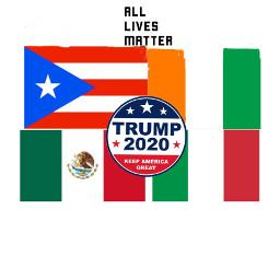 alm trump2020 mexican italian irish puertorican proud maga freetoedit