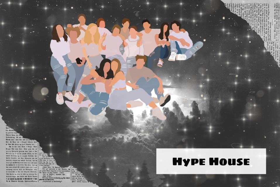 #hypehouse #addisonrae #charlidamelio #dixiedamelio #lilhuddy #family #Tiktokfanous #Tiktokstars #Tiktokers #Tiktok #Blackandwhite #Stars #Night #Newspaper